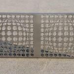 H&H Design Kft - Kerítés Vasarely mintával