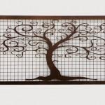 H&H Design Kft - Lézervágott csodafa kerítés negatív