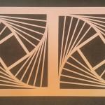 H&H Design Kft - Kerítés geometriai mintával