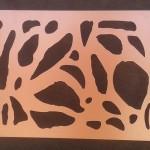 H&H Design Kft - Kerítés organikus mintával