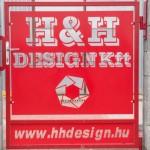H&H Design Kft - Kiskapu 3D-s céglogóval